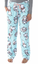 Disney Women#x27;s Aristocats Marie The Kitty Cat Soft Touch Fleece Pajama Pants $23.95