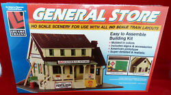Ho Scale Life-like General Store Unassembled Scenery Kit N.o.s. Factory Sealed