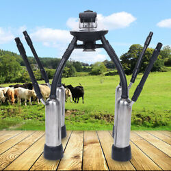 Cow Milking Machine Milk Claw Cluster Milk Collector Silicone Liners Stainless