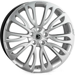 Alloy Wheels 23 Hawke Halcyon Silver For Land Rover Range Rover [l322] 02-12