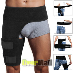 Hip Brace Compression Groin Support Wrap For Sciatica Pain Relief Thigh Recovery