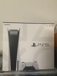 Ps5 Sony Playstation 5 Disc Version In Hand Ships Today🔥 🚚 Christmas Delivery