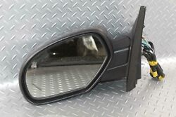 09-14 Yukon Gray Lh Driver Power Door Mirror W/turn Signal Opt Dl8 Factory Oem