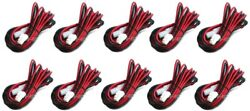 10x Dc Power Cable Length 3m For Kenwood Mobile Tk705g/708g/805g/760g/840g K202