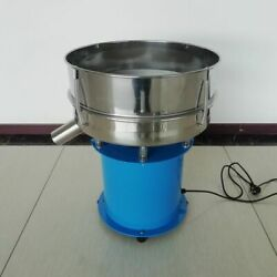 Automatic Electric Vibrating Sieve Machine Food Industry Sieves+ 1pcs 40cm Meshs