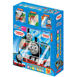 Thomas And Friends 9 Frames Cube Puzzle Apollo-sha Educational Toys New