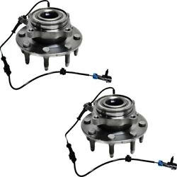 Pair Set Of 2 Wheel Hubs Front Left-and-right For Chevy Suburban Yukon 20980075