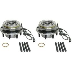 Wheel Hubs Set Of 2 Front Left-and-right For F250 Truck F350 Ac3z1104b Pair