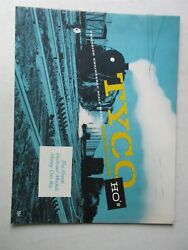 Vintage Tyco Catalog Ho Scale Electric Trains