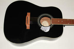 David Gilmour Signed Autograph Gibson Epiphone Acoustic Guitar - Pink Floyd