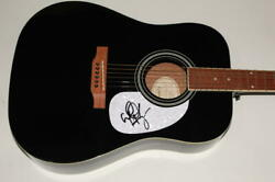 Walker Hayes Signed Autograph Gibson Epiphone Acoustic Guitar - Country Music
