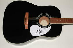 Ryan Hurd Signed Autograph Gibson Epiphone Acoustic Guitar - Rare
