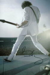 Brian May Signed Autograph 8x12 Photo - Queen Guitarist, A Day At The Races Acoa