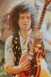 Brian May Signed Autograph 8x12 Photo - Queen Ii, Sheer Heart Attack, Jazz, Acoa