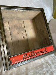 Vintage Butternut Bread Box/candy Display Promotional Tin - Rare