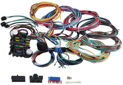 Wmphe 21 Circuit Wiring Harness Long Wires Painless Wiring Harness Kit 18 Fuses