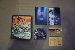 Rage Of Mages Pc Cd-rom 1998 Big Box New Open Box Sealed Game Vintage Rare