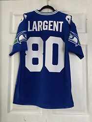 Authentic Steve Largent Seahawks 1985 Mitchell And Ness Jersey Mens Size40 Nwot