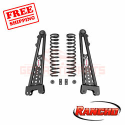 Rancho Front 2.5lift Leveling Kit Suspension For Ford F-250 Superduty 4wd 11-19