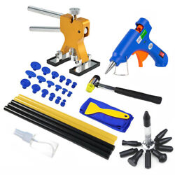 Car Body Paintless Dent Repair Removal Tool Kit Puller With Glue Puller Tabs