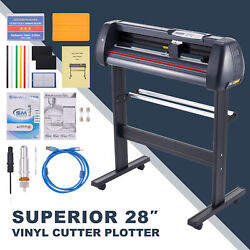 31in/sec Vinyl Cutter Machine 28 Inch Feed Sign Maker Cutting Kit W Signmaster