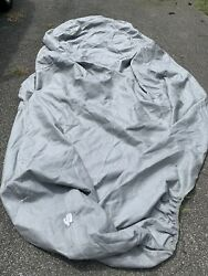 Wolf Evolution 3 Fabric Car Cover Grey Ready Fit