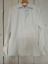 White THOMAS PINK Evening Formal Dress Shirt Size 15.5 39 MSRP $138 $28.99