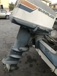 1974 Evinrude 40 Hp Outboard Motor - Carb 2-stroke