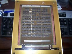 Cray-1 Ecl Logic Board Production 1976 Collectors Edition 232 Of 998