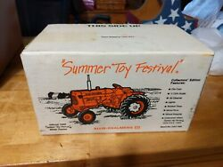 Allis-chalmers D14 Tractor Official 1989 Summer Toy Festivalshow Tractor 116 G3
