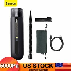 Baseus 15000pa Powerful Car Vacuum Cleaner Portable Handheld Strong Home Duster