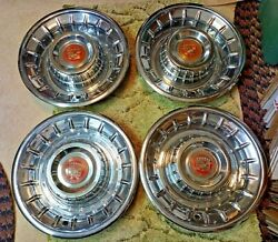 1956 Cadillac Hubcaps Wheel Covers Set Of 4 15