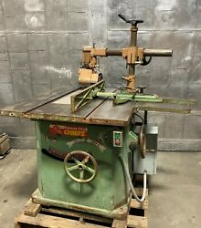 Northfield No.4 Heavy Duty 18 Table Saw With Rockwell 4v Feeder Woodworking 5hp