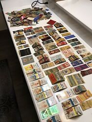 Vtg 200+ Matchbook Covers Huge Lot 1930andrsquos-40andrsquos Americana Hotel-restaurant-ads