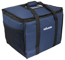 Woodside Extra Large 50l Insulated Cooler Bag For Hot/cold Food And Drink Delivery