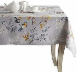 Maison Dand039 Hermine Equinoxe 100 Cotton Tablecloth For Kitchen Dining | Tabletop