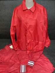 Vtg Windbreaker Loy Of 2 Size Xl Cardinals And Anheuser Busch Made In Usa