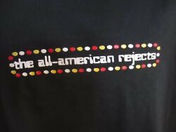 New All American Rejects Band / Concert / Music T-shirt Large