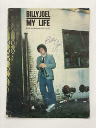 Billy Joel Signed Autograph My Life Sheet Music Book - Legend, Very Rare, Real