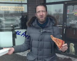Dave Portnoy Signed Autograph 8x10 Photo - Barstool Sports One Bite Pizza Review