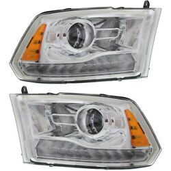 68093216ad, 68093217ad Ch2503244, Ch2502244 Headlight Lamp Left-and-right