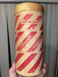 One Of A Kind Antique Bowman Dairy Company, Chicago, Ice Cream Container