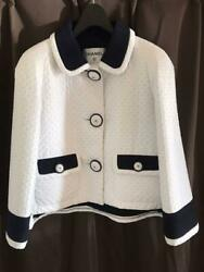 Authentic Chanel Large For Organization By Color Dot Jacket 38 M No.71459 $1002.17