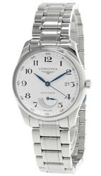 Longines Master Collection Automatic 40mm Silver Dial Menand039s Watch L2.908.4.78.6