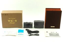 【top Mint Boxed】 Minolta Tc-1 70th Limited Black Point And Shoot Film Camera Japan