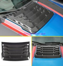 27pcs Real Carbon Fiber Car Kit Cover Trim Fit For For Ford F150 2017-2020
