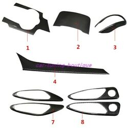 Real Carbon Fiber Car Interior Kit Cover Trim For Alfa Romeo Giulia 2017-2019