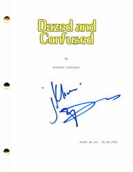 Matthew Mcconaughey Signed Autograph Dazed And Confused Full Movie Script - Stud