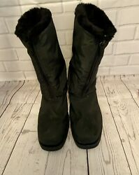 Totes Women#x27;s Staride 2 Waterproof Snow Synthetic And Fabric Boot Size 9 $28.00