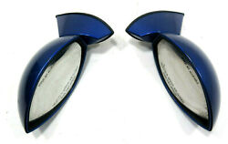 Nice Oem Polaris 2003 And 2004 Msx 140 Msx 110 And Msx 150 Left And Right Mirror Blue